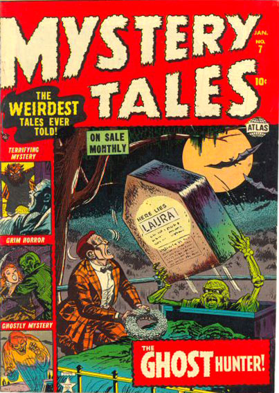 Mystery Tales 7 Cover Image