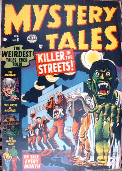 Mystery Tales 8 Cover Image