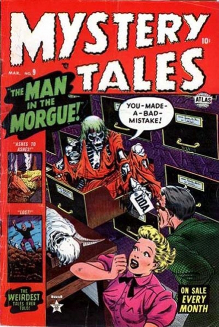 Mystery Tales 9 Cover Image