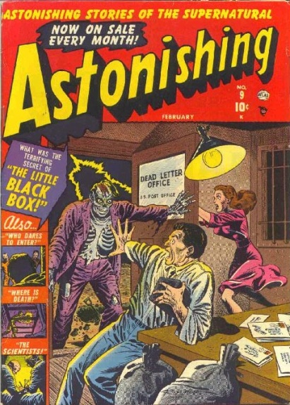 Astonishing 9 Cover Image
