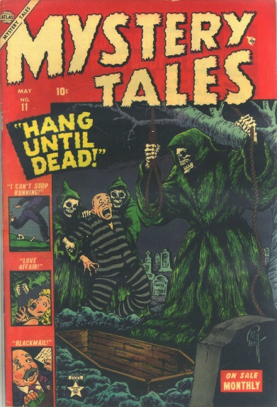 Mystery Tales 11 Cover Image