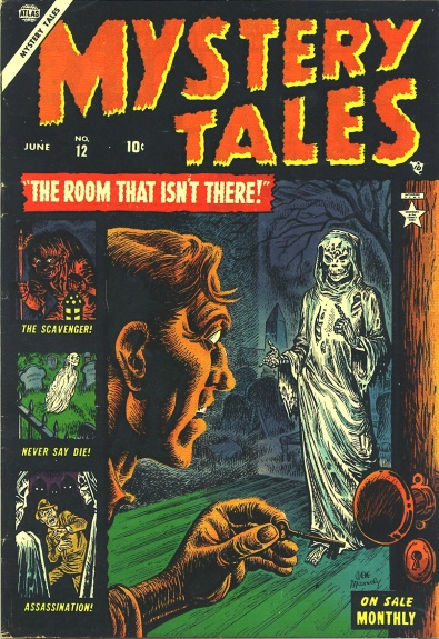 Mystery Tales 12 Cover Image