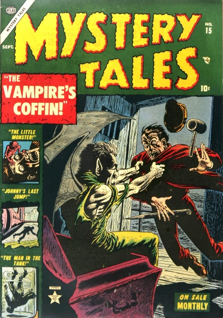 Mystery Tales 15 Cover Image