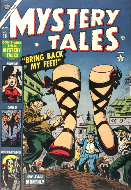 Mystery Tales 16 Cover Image
