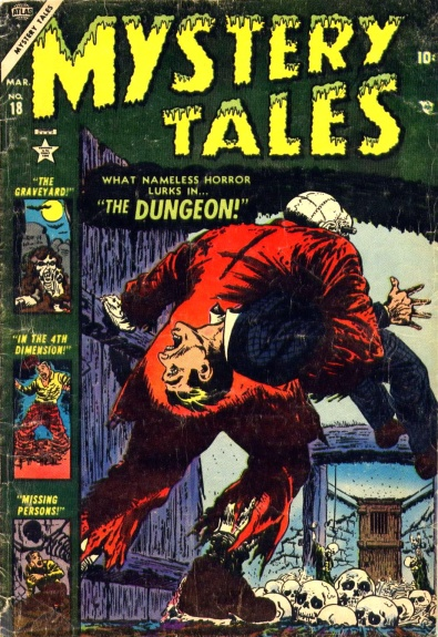 Mystery Tales 18 Cover Image