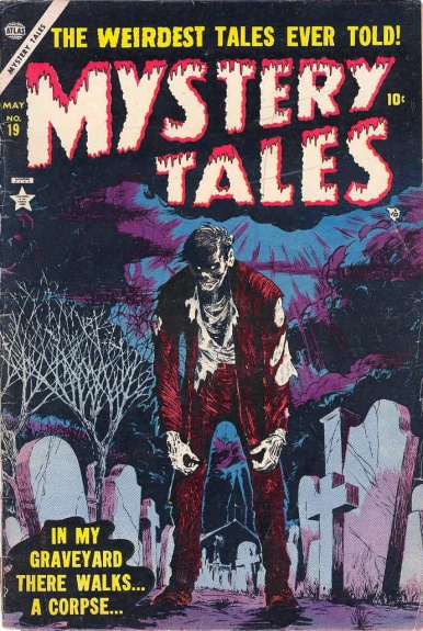 Mystery Tales 19 Cover Image