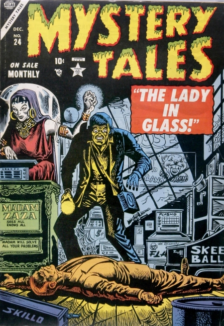 Mystery Tales 24 Cover Image