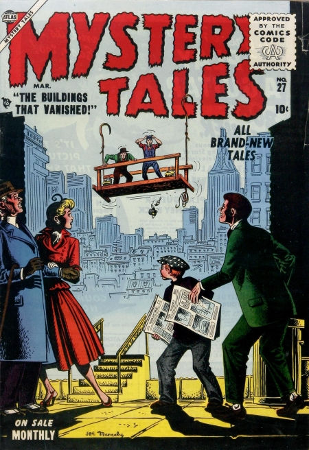 Mystery Tales 27 Cover Image