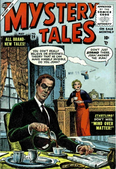 Mystery Tales 29 Cover Image