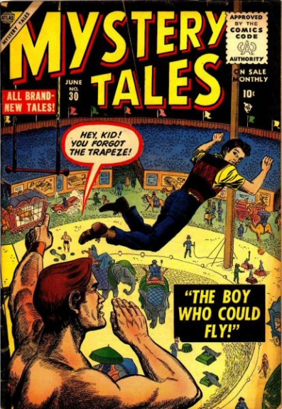 Mystery Tales 30 Cover Image