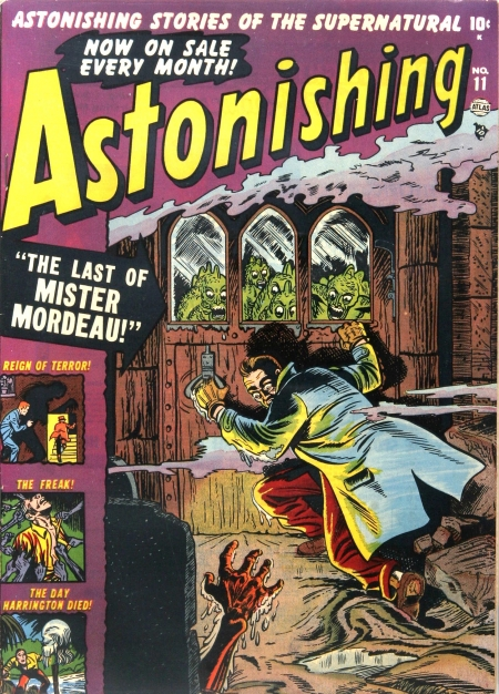 Astonishing 11 Cover Image