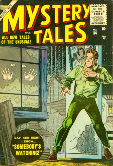Mystery Tales 34 Cover Image