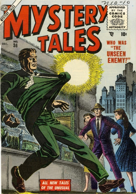 Mystery Tales 36 Cover Image
