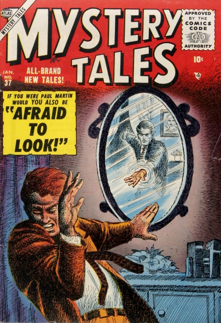Mystery Tales 37 Cover Image