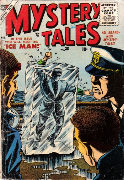 Mystery Tales 38 Cover Image