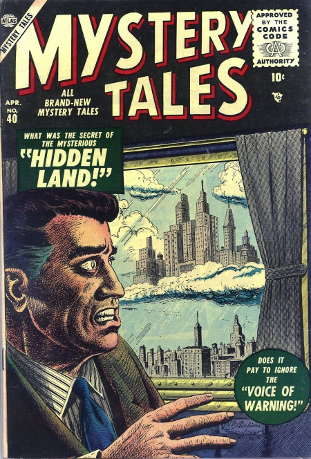 Mystery Tales 40 Cover Image