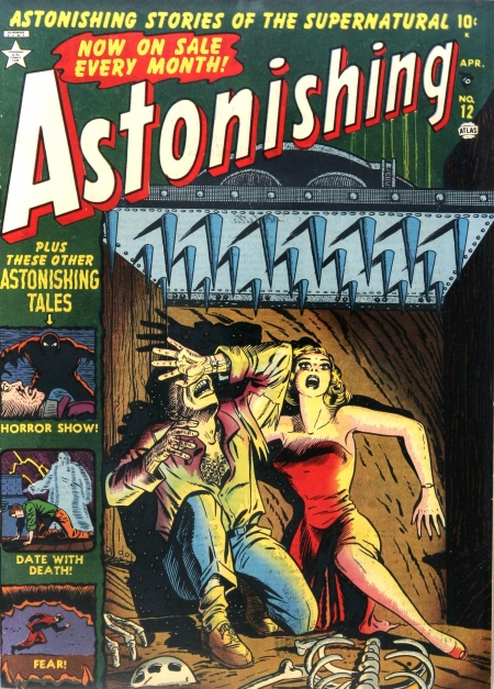 Astonishing 12 Cover Image