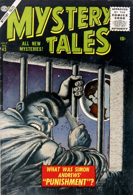 Mystery Tales 43 Cover Image
