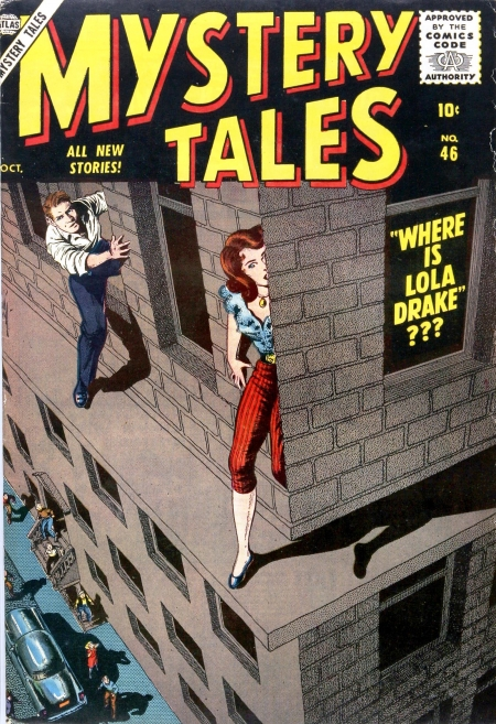 Mystery Tales 46 Cover Image