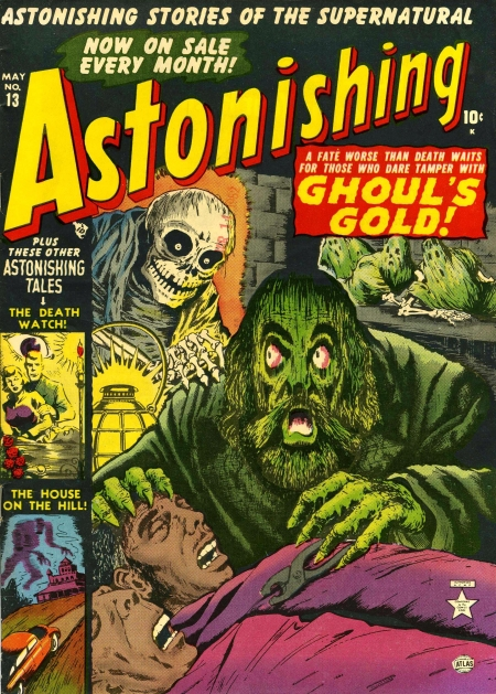 Astonishing 13 Cover Image
