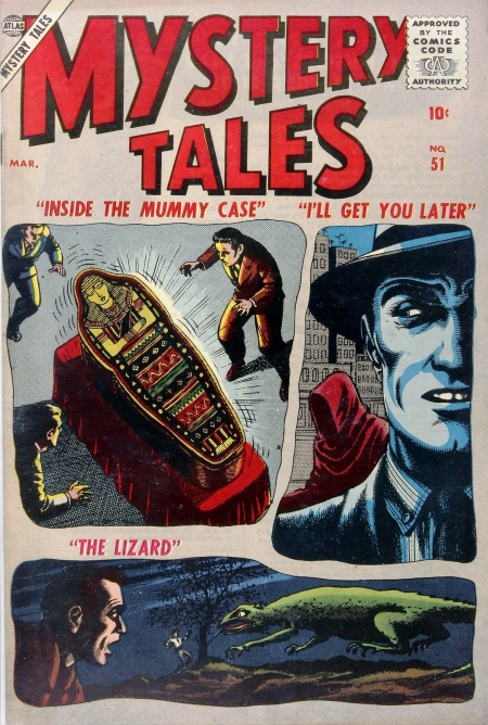 Mystery Tales 51 Cover Image