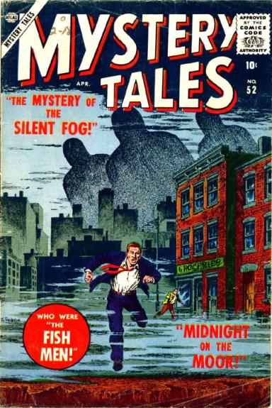 Mystery Tales 52 Cover Image