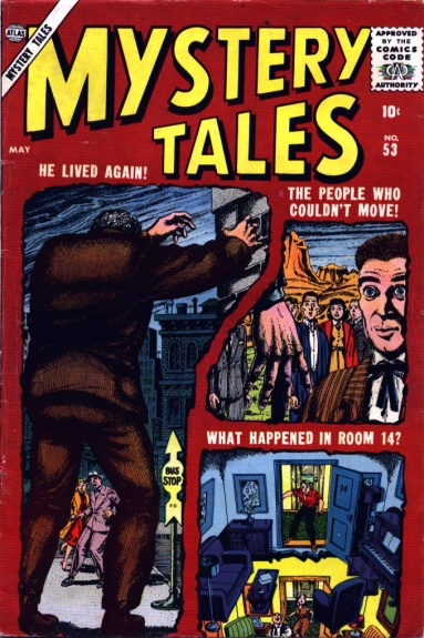 Mystery Tales 53 Cover Image