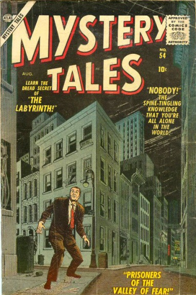 Mystery Tales 54 Cover Image
