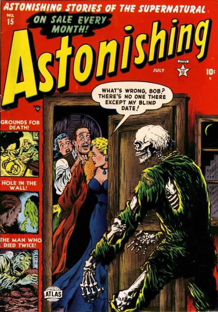 Astonishing 15 Cover Image