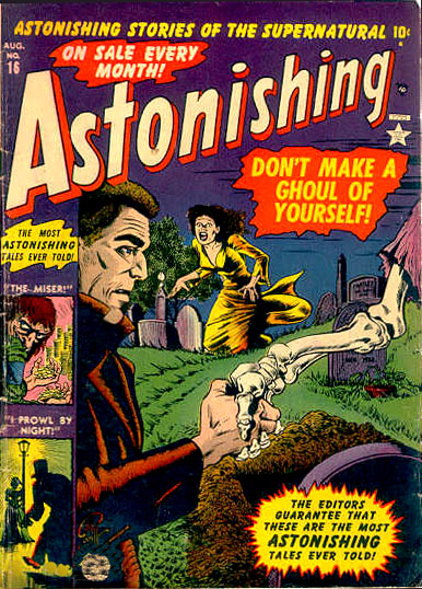 Astonishing 16 Cover Image