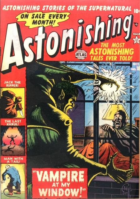 Astonishing 18 Cover Image