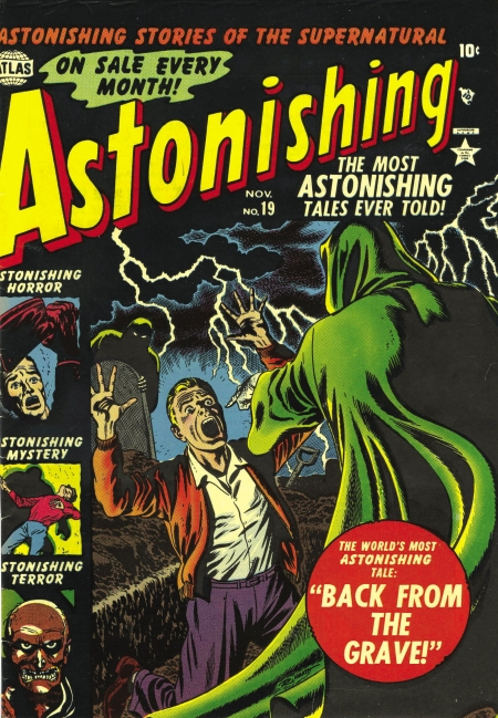 Astonishing 19 Cover Image