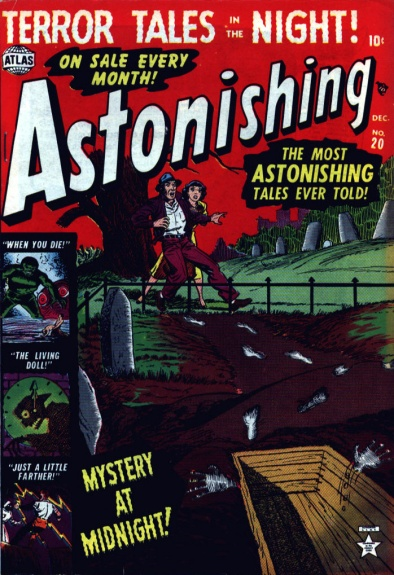 Astonishing 20 Cover Image