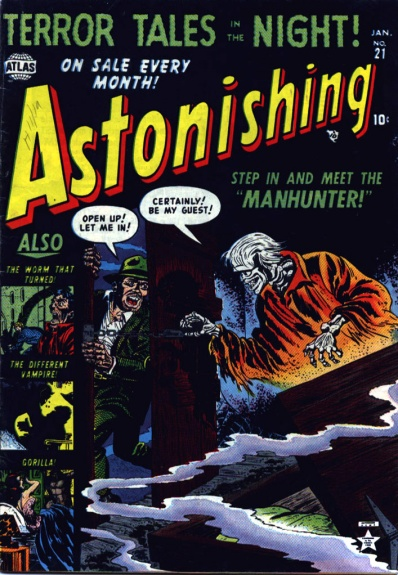 Astonishing 21 Cover Image