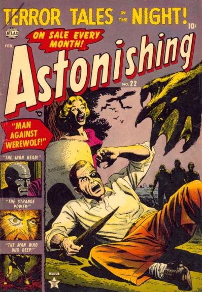 Astonishing 22 Cover Image