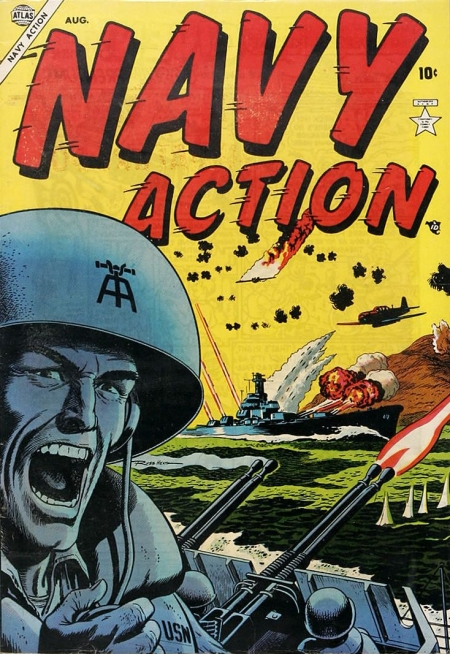 Navy Action 1 Cover Image