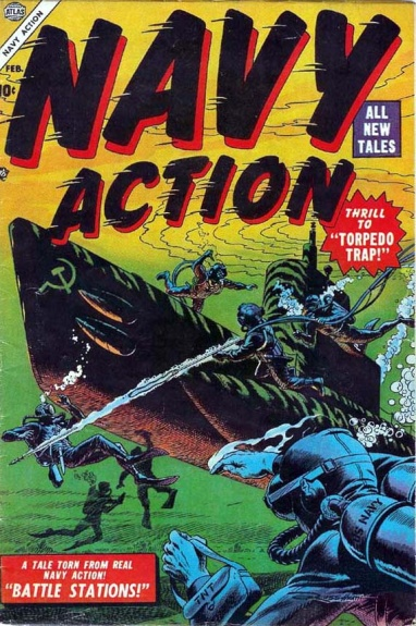 Navy Action 4 Cover Image