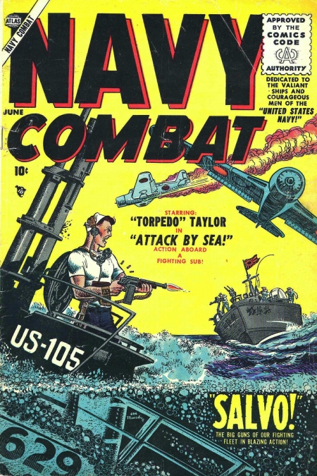 Navy Combat 1 Cover Image