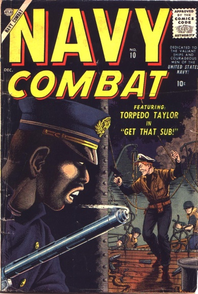Navy Combat 10 Cover Image