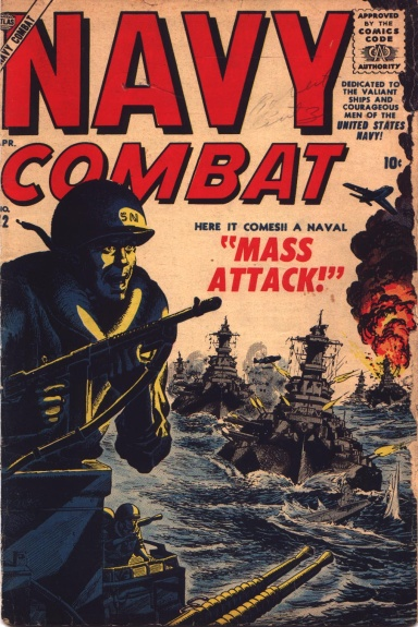 Navy Combat 12 Cover Image