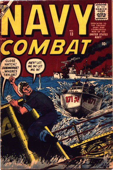 Navy Combat 13 Cover Image