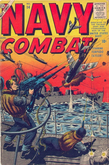 Navy Combat 14 Cover Image