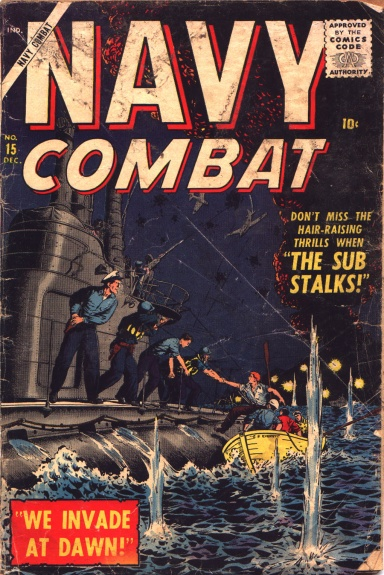 Navy Combat 15 Cover Image