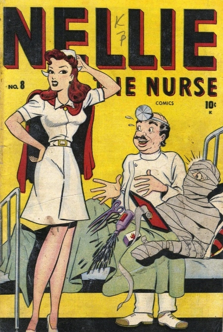 Nellie the Nurse 8 Cover Image