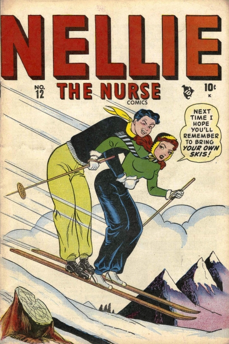 Nellie the Nurse 12 Cover Image