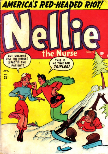 Nellie the Nurse 27 Cover Image