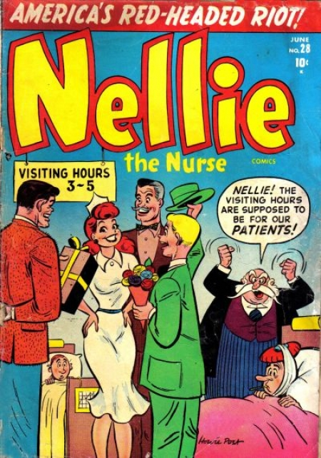Nellie the Nurse 28 Cover Image