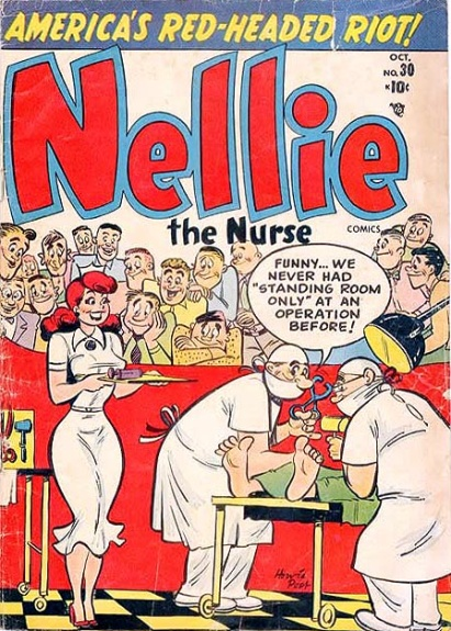 Nellie the Nurse 30 Cover Image