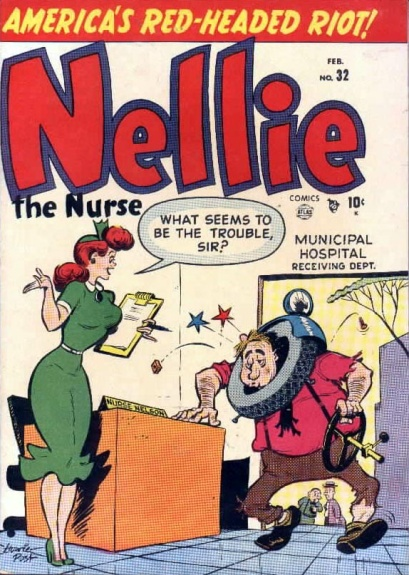 Nellie the Nurse 32 Cover Image
