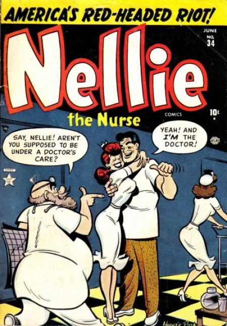 Nellie the Nurse 34 Cover Image
